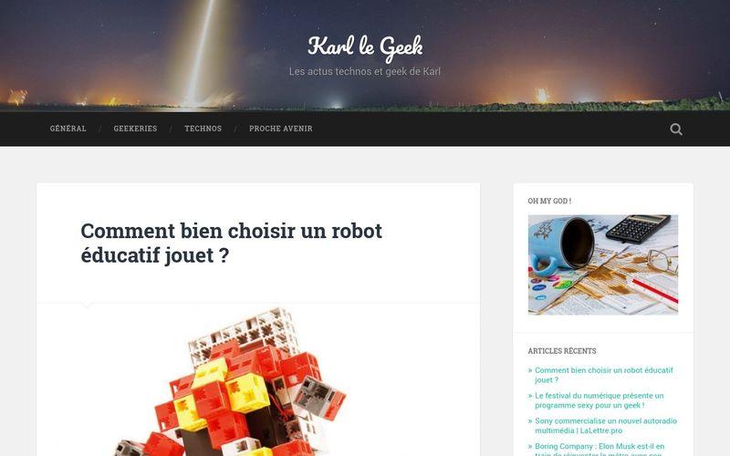 Comment bien choisir un robot éducatif jouet ? – Karl le Geek