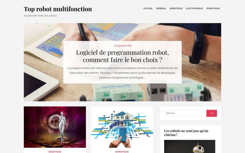 Top robot multifonction : apprendre avec les robots